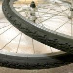 自転車のホイールをひたすら磨いてタイヤをセットしたら…